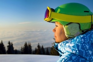 TBI therapy for skier