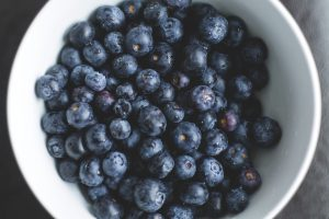 blueberries for TBI nutrition